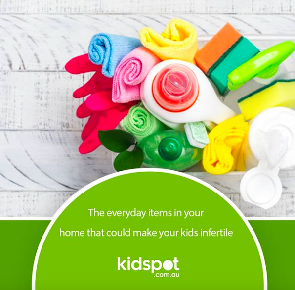 The everyday items making your kids infertile